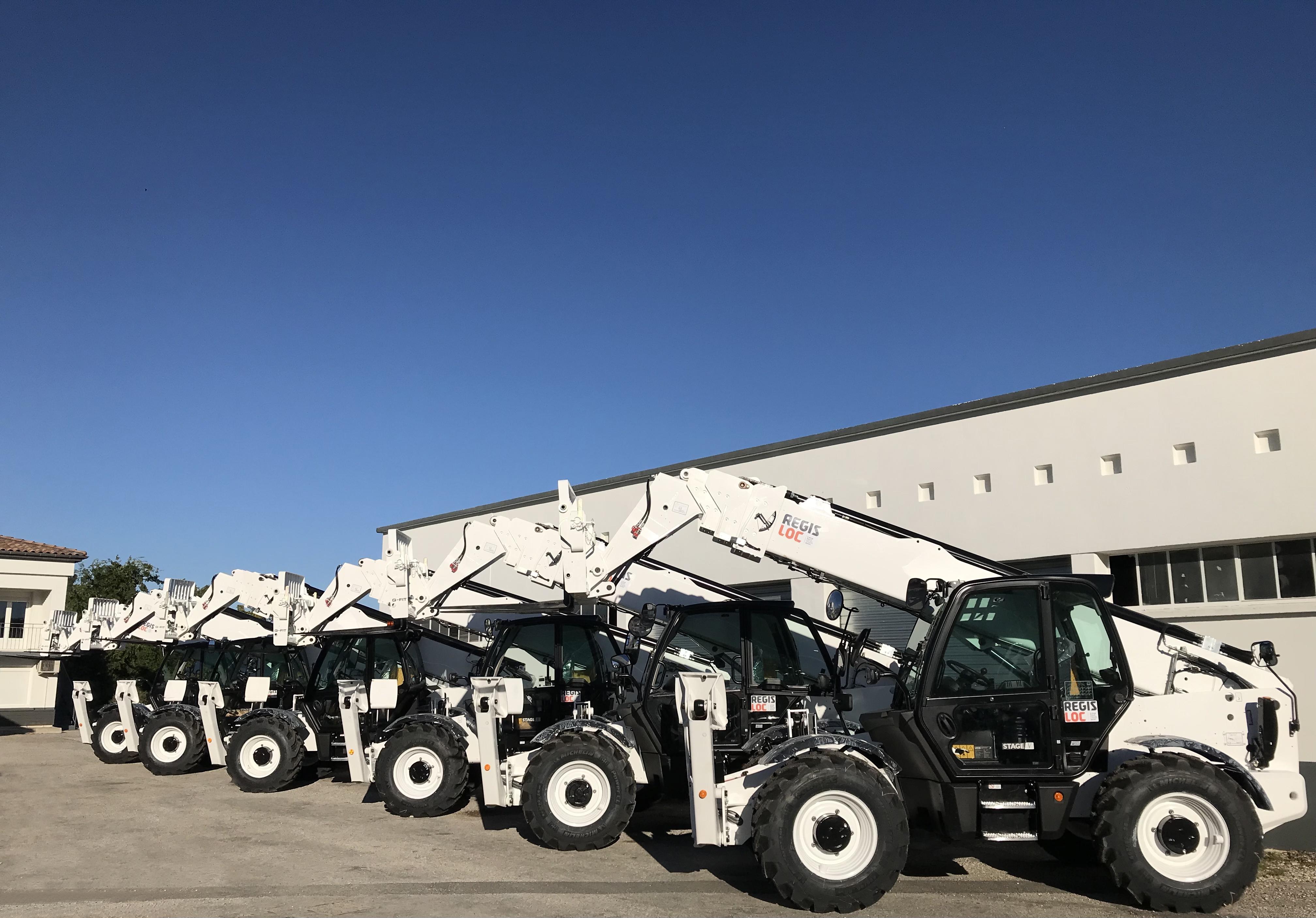 nouveaux chariots télescopiques 18 mètres à la location