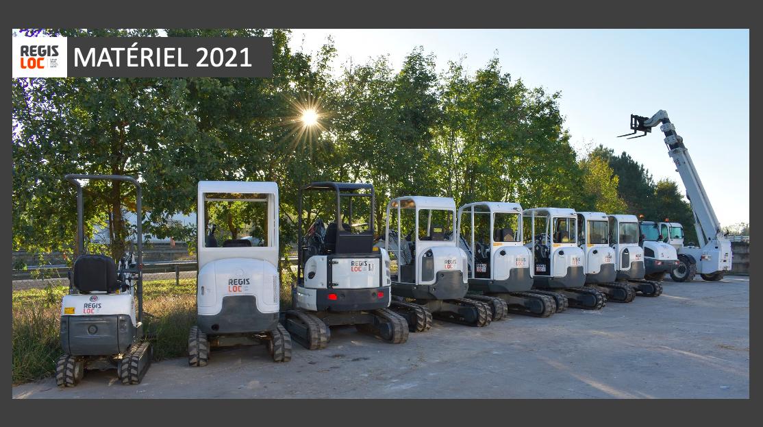 Matériel 2021 REGIS LOC